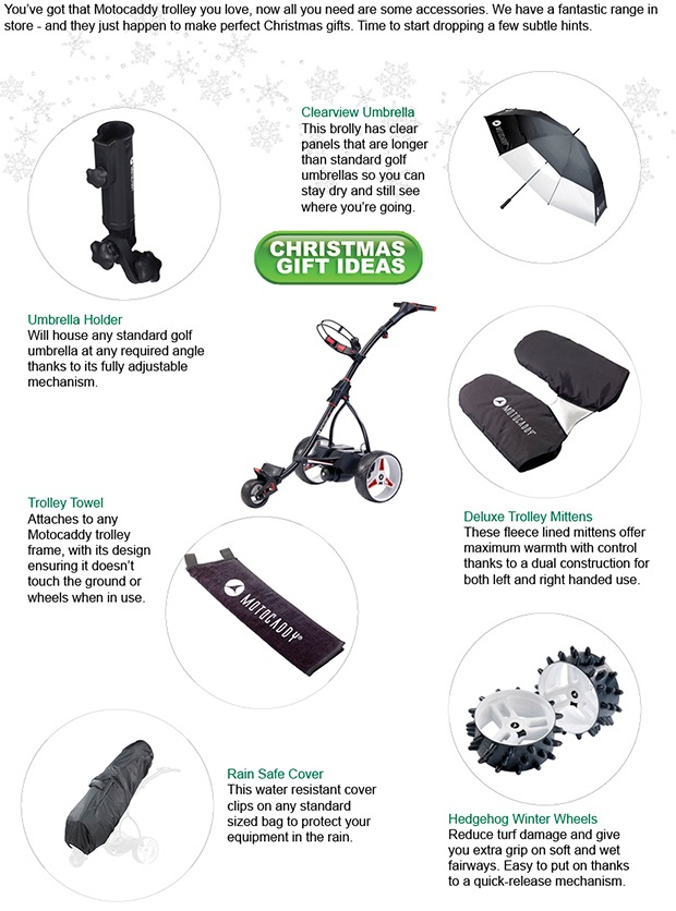 Is your Motocaddy missing something?