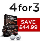 Titleist 4 for 3 - £44.99