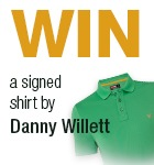 Danny Willett shirt competition