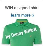Win a Danny Willett signed shirt