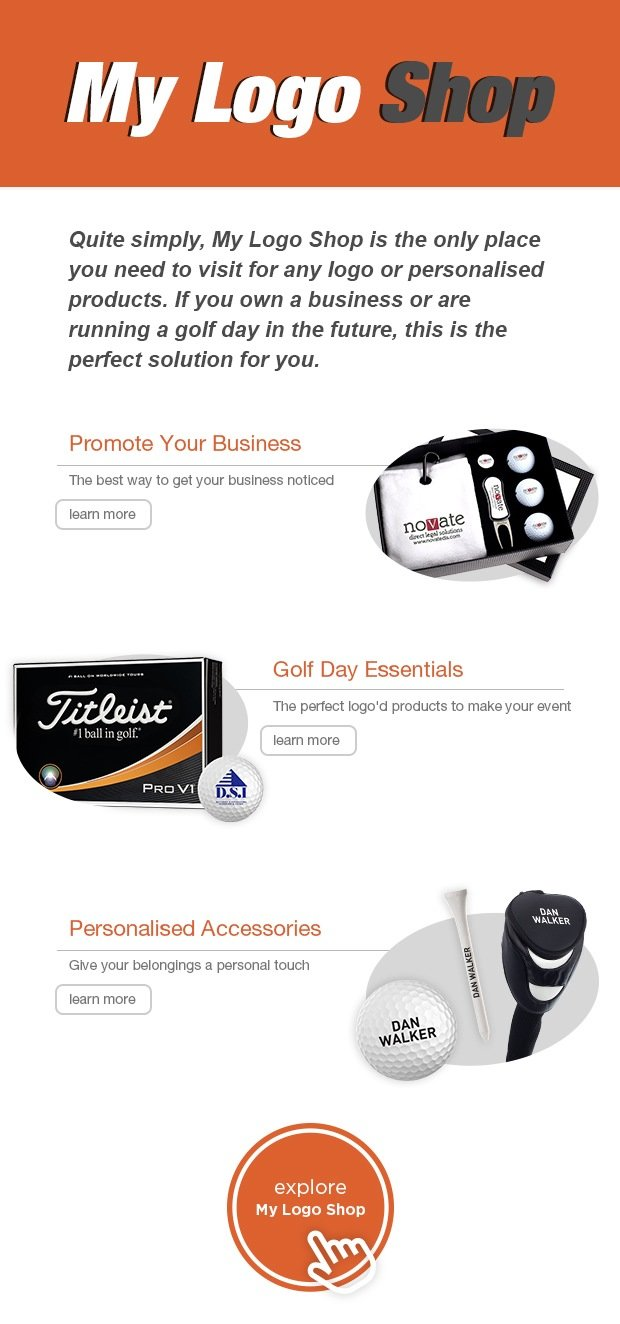 My Logo Shop - Golf Day Essentials