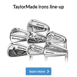 TaylorMade irons line-up